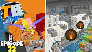Truly Bedrock S2 Ep22! Auto Concrete And Basalt Farm! Bedrock Edition Survival Let's Play!