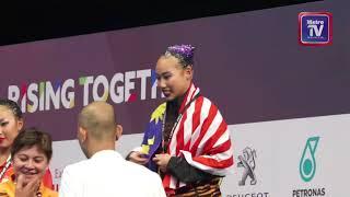 #KL2017 Hua Wei raih emas