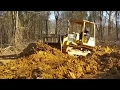 Bulldozing Heavy Clay! Duck Pond food plot impoundment. Did the dozer work??