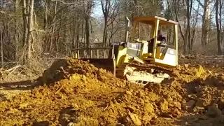 Bulldozing Heavy Clay! Duck Pond food plot impoundment. Did the dozer work??