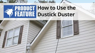 How to Use the Dustick Duster for Bee and Wasp Nest Removal