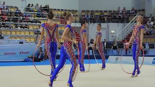 Художественная гимнастика/Чемпионат России Казань 2017/Волгоградская область Обручи