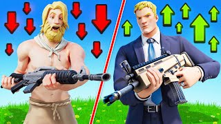 The RAGS TO RICHES Challenge in Fortnite!