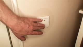 как защитить обои вокруг выключателя