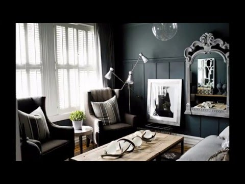 Cool Black and silver living room ideas