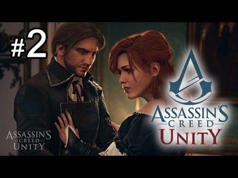 《刺客教條:大革命》Assassin's Creed Unity #2 愛情故事點綴一下, 內容更加豐富 [PS4] - YouTube
