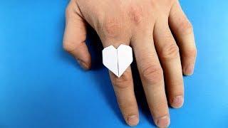 как сделать кольцо для детей