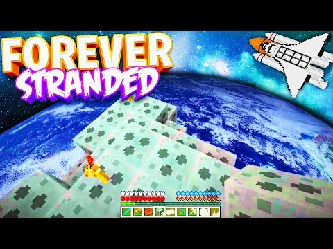 HOW ARE WE SUPPOSED TO MAKE IT OUT OF HERE! - Forever Stranded 2 LOST SOULS Modded Minecraft #5
