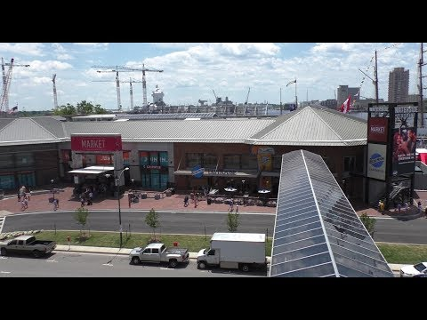 Waterside District Norfolk- Riding the Glass Elevator
