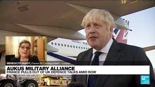 France cancels defence meeting with UK over submarine row • FRANCE 24 English