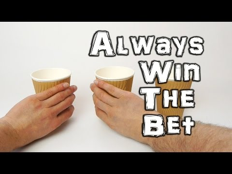 The 3 Cups Challenge - You always win the bet!