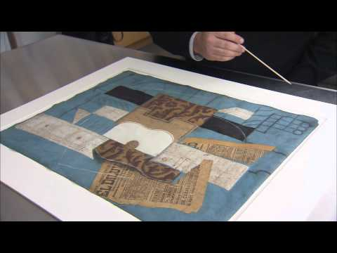 Picasso: Guitars 1912-1914 | Picasso's Collage Materials