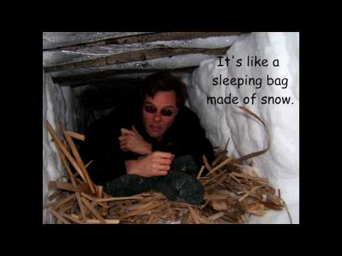 Snow Trench Survival Shelter
