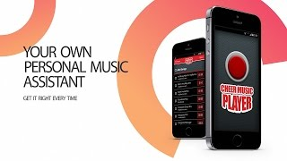 Cheer Music Player App Promo