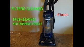 Eureka Upright Vacuum *NO Suction,belt burning smell* FIX