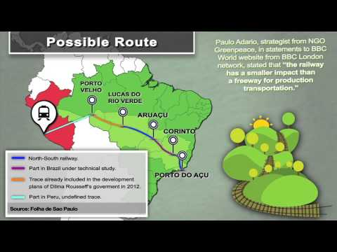 Atlantic-Pacific railway designed to boost Asia-LatAm trade with care of nature
