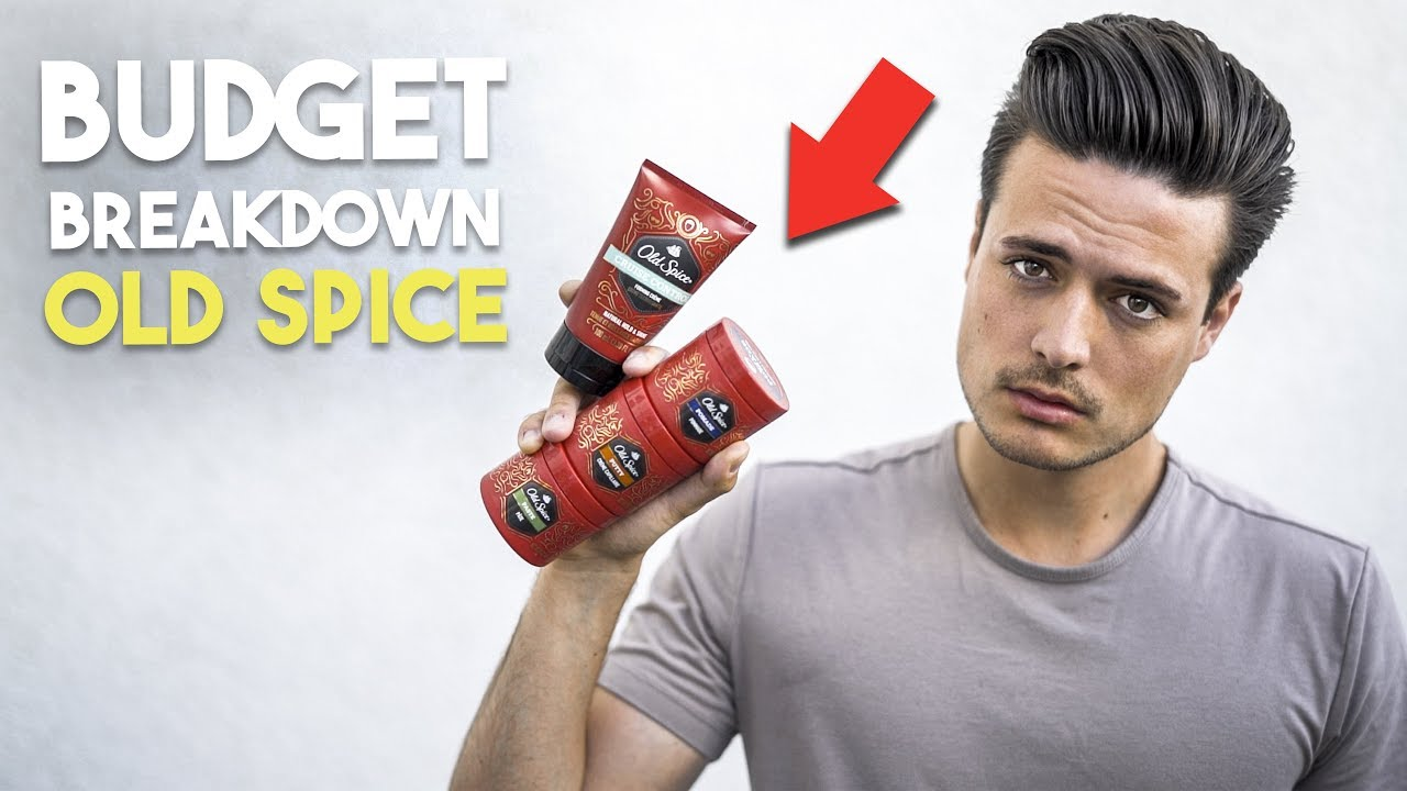 Are Old Spice Hair Products Any Good? | Men\'s Hair Budget Breakdown