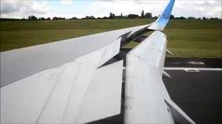 Thomson Airways B757 Landing - Birmingham Airport