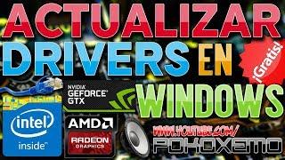 Descargar y Actualizar Drivers en Windows XP/7/8.1/10 [Antes o Despues de Formatear Nuestro Equipo]