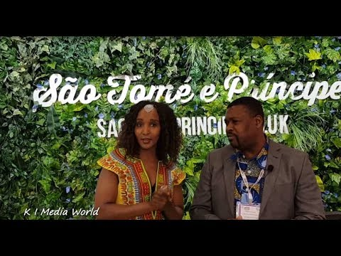 World Travel Market 2017 -- São Tomé and Príncipe Day 3 #WTMLDN