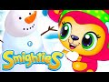 Smighties - Snowman Giant Angry Birds & Monsters In Frozen Day |Cartoons For Kids |Funny Kids Videos