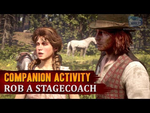 Red Dead Redemption 2 - Companion Activity #10 - Coach Robbery (Sean)