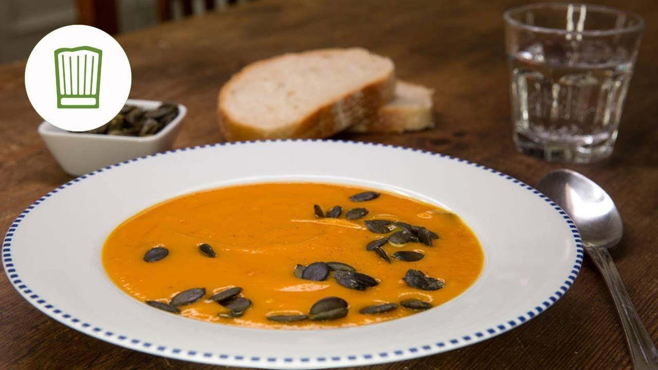cremige kürbissuppe rezept #chefkoch - youtube - Kürbissuppe Rezept Chefkoch