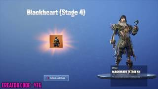 *NEW* BLACKHEART OUTFIT UNLOCKED on Fortnite Battle Royale Season 8