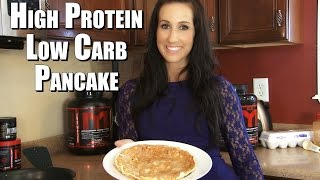 High Protein Low Carb Mts Pancake