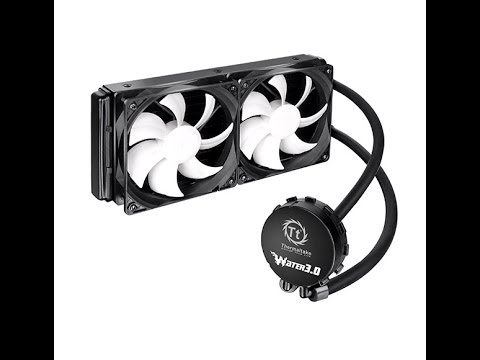 Thermaltake Water 3.0 Extreme S AIO LCS System Overview
