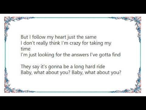 Crystal Gayle - Baby What About You Lyrics