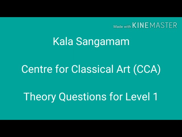 Level 1 Theory questions