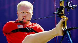 Archery - Stutzman (USA) v Forsberg (FIN) - Men