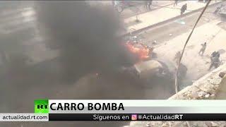 La explosión de un coche bomba deja heridos en el centro de la ciudad siria de Afrín