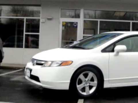 2007 Honda Civic Ex White Plains