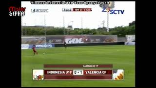 Video Gol Pertandingan Valencia CF vs Spanyol