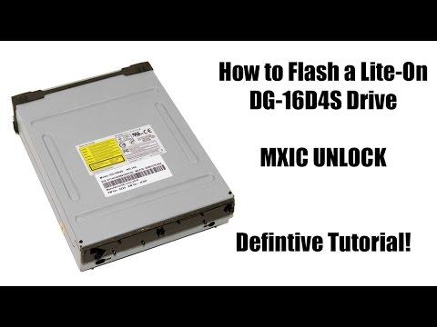How to Flash an Xbox 360 Slim DG-16D4S MXIC Drive