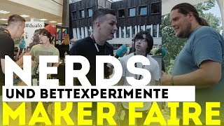 Bettexperimente & verrückte Nerds | Maker Faire 2018