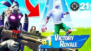 BEST SKIN EVER!! 21 KILL GAME in TILTED TOWERS! (Fortnite Battle Royale)