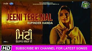 Jeeni Tere Nal Rupinder Handa Mitti Virasat Babbaran King Music Di Latest Song 2019