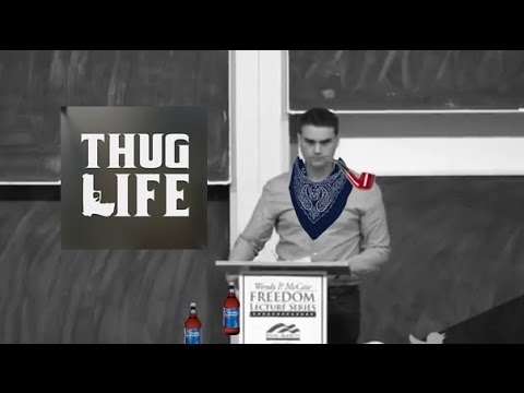 Ben Shapiro Thug Life - Transgenderism, Economic Mobility & Free Speech