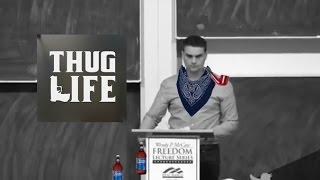 ben shapiro thug life transgenderism economic mobility free speech