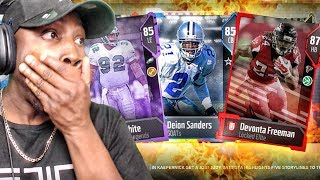 PULLING LEGENDS & ELITES IN G.O.A.T. PACK OPENING! Madden 18 Ultimate Team Gameplay