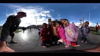 Plaza De Almas, Cusco (VR / 360) Meet the Locals