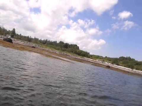 Petit-Rocher Nord en Kayak