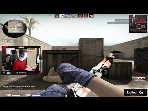 kennyS AMANEK and jACKz play on aimmap  CSGO 29032019