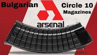 Bulgarian Circle 10 Magazine 30 & 40 Round 🇧🇬 Bulgaria Independence Day 22 September 1908 111 Year
