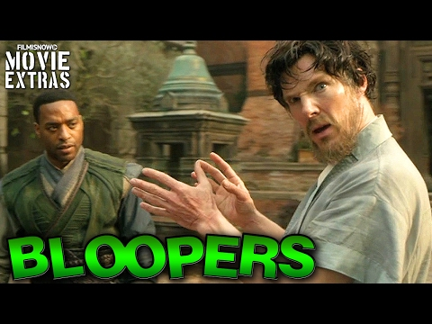 Doctor Strange Bloopers & Gag Reel [Blu-Ray/DVD 2017]