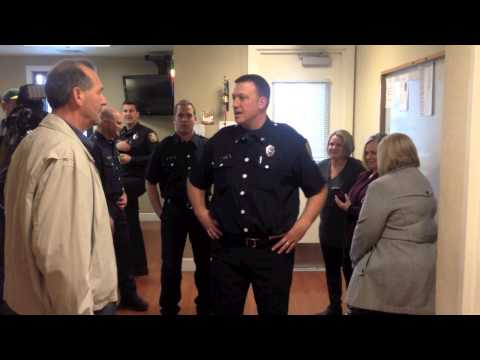 Citizen visits Sacramento Fire Station 20 to say thank you for saving his life