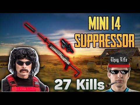 download Mini14 SUPPRESSOR POWER - Shroud carries DrDisrespect win DUO FPP(11-Apr) - PUBG HIGHLIGHTS #87